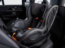 Het innovatieve kinderzitje, bedacht door Mercedes-Benz en Britax Römer.