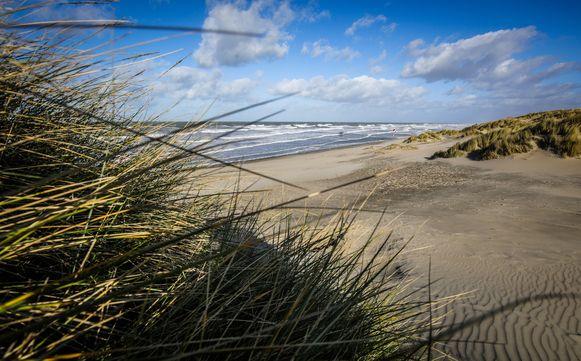 Het strand tussen Lombardsijde en Westende moet het walhalla voor honden worden