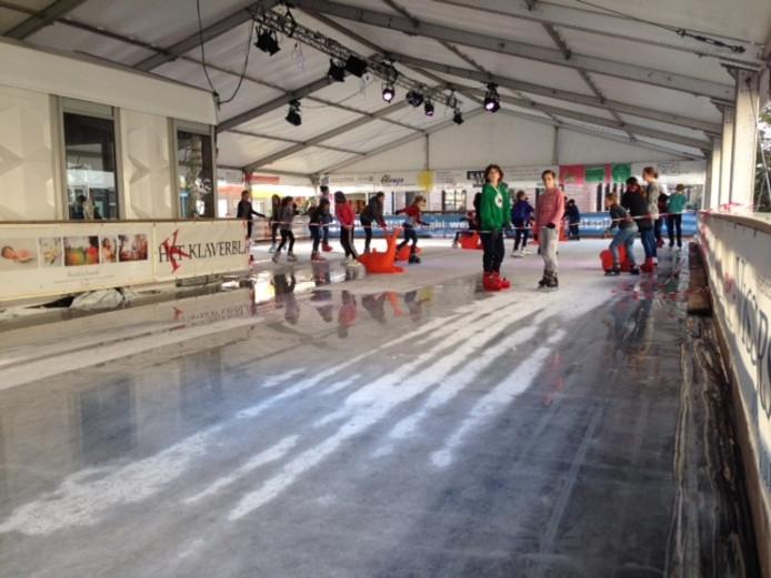 De ijsbaan in Vught