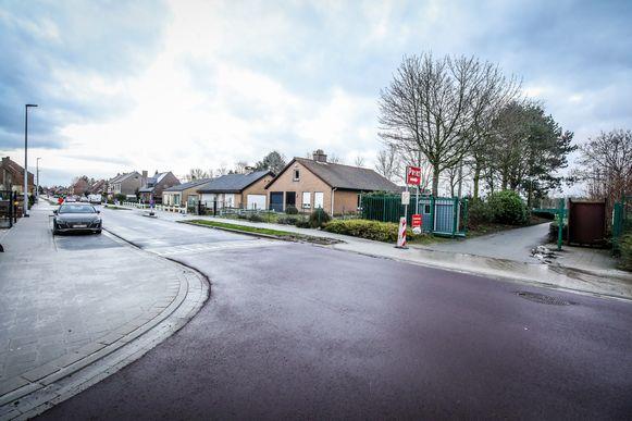 Er komt een groene zone tussen het nieuwe stadion en de Lange Molenstraat.