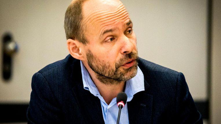Thomas Bruning van de Nederlandse Vereniging van Journalisten. Beeld anp