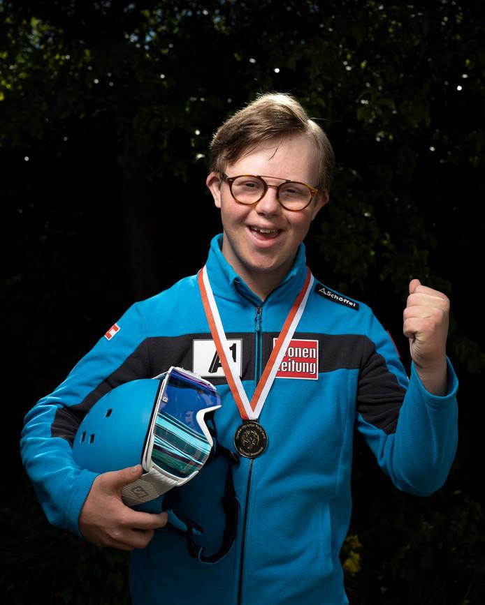 Rens van Groningen kon in Finland weer juichen.