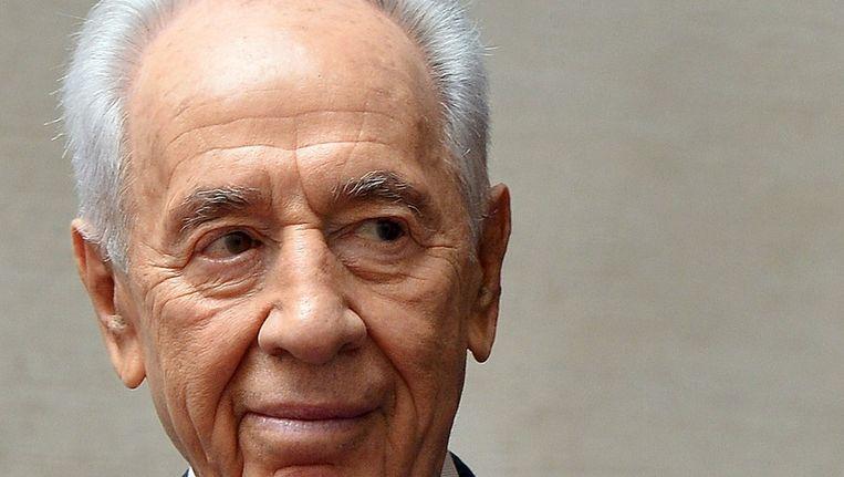President Shimon Peres van Israël Beeld afp
