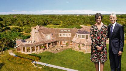 BINNENKIJKEN. De Obama's kopen een vakantiehuis op hun favoriete eiland