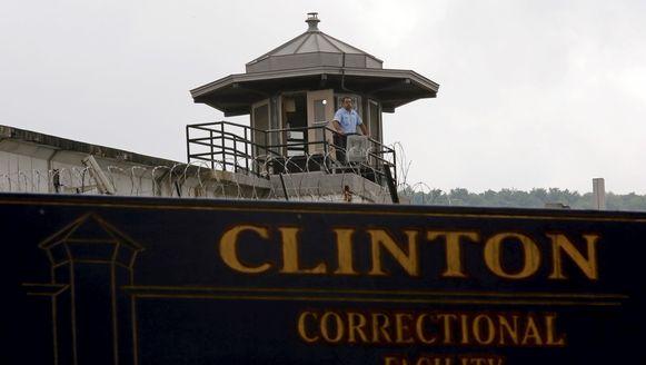 De gevangenis waaruit het tweetal ontsnapte.