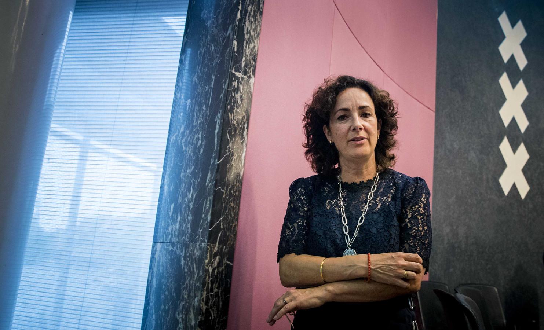 Burgemeester van Amsterdam Femke Halsema.