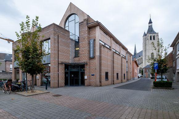 De vroegere bibliotheek in de Moensstraat.