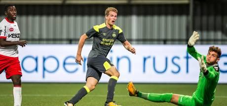 Laursen bezorgt Jong PSV zege in Helmond