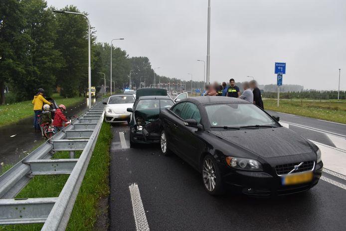 Kettingbotsing Van Elkweg in Bemmel