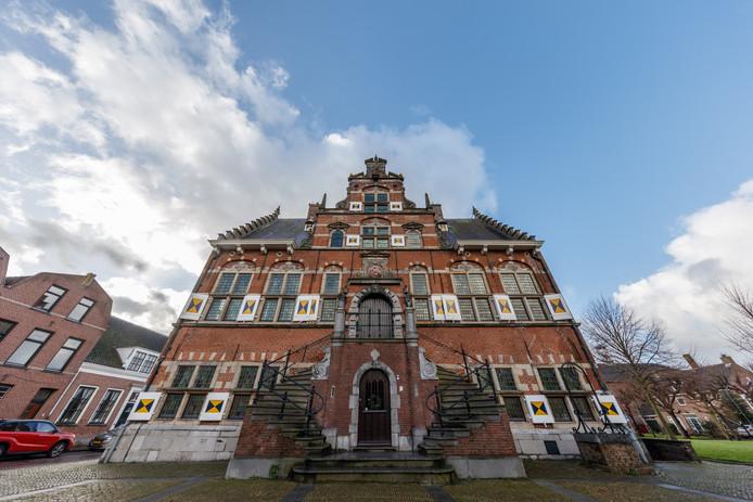 Het oude stadhuis in Klundert