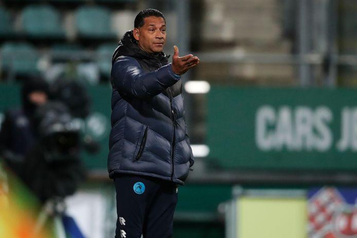 Trainer Henk Fraser van Sparta.