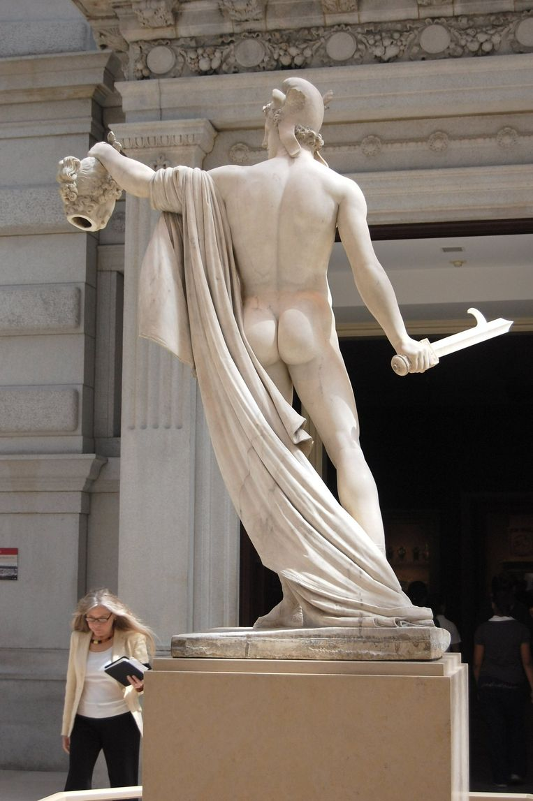 Perseus van Antonio Canova. Beeld null