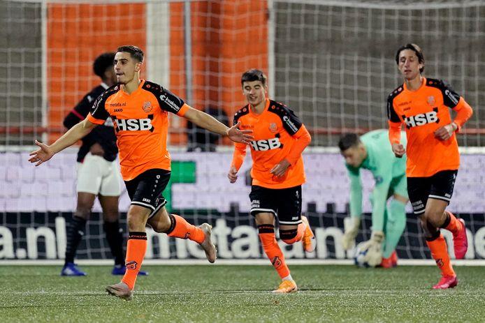 Francesco Antonucci maakte de eerste goal van FC Volendam.