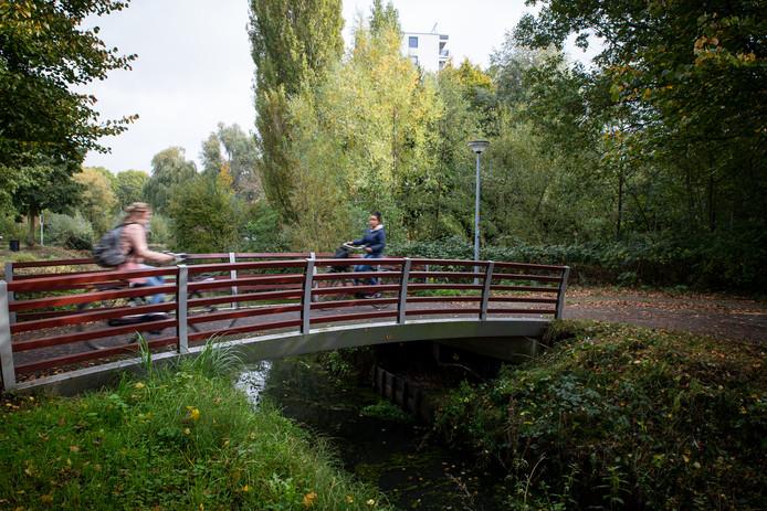 De brug over de sloot bij Pomona staat te koop op bruggenbank.nl
