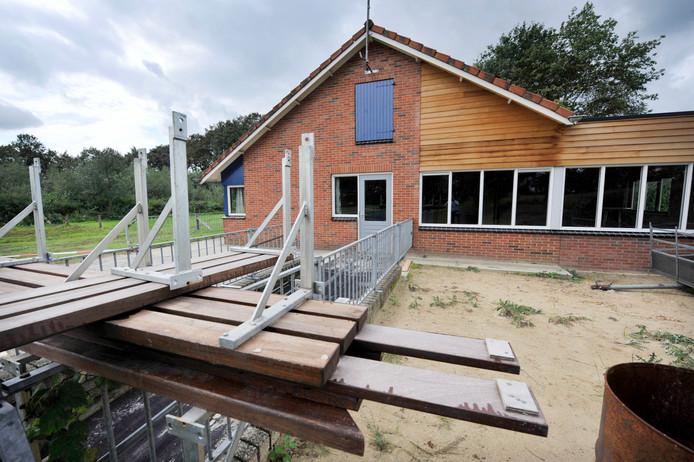 Ook bij de IJsclub Albergen werden activiteiten afgelast.