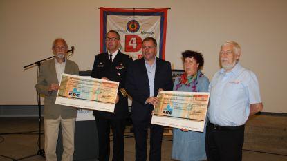 Organisatie Vierdaagse verdeelt 1.500 euro over twee goede doelen