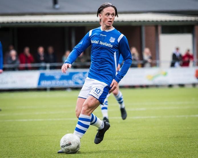 Yannik de Vries miste zondag een strafschop.