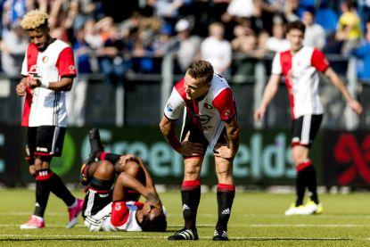 Titelstrijd in Eredivisie razendspannend na nieuw puntenverlies Feyenoord