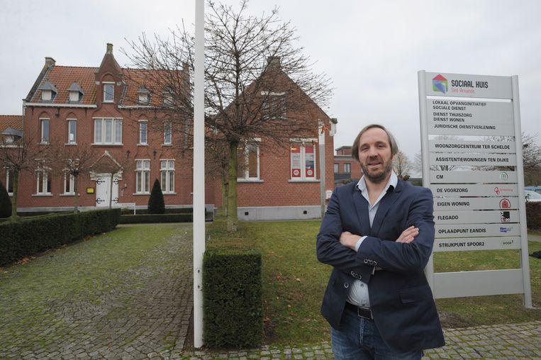 Heiko Van Muylder voor het Sociaal Huis van Sint-Amands