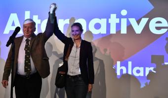 De AfD stormt de Bondsdag binnen
