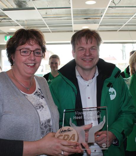 Zorg award voor Ursula Groeneveld uit Tilligte
