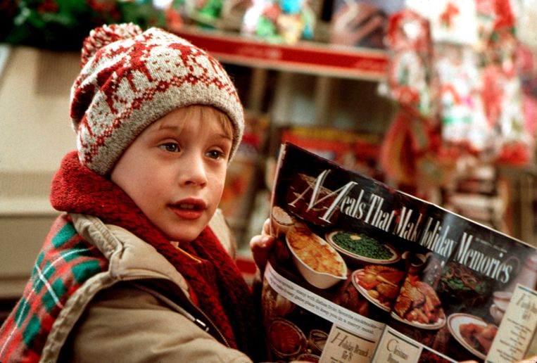 Macaulay Culkin in 'Home Alone'.