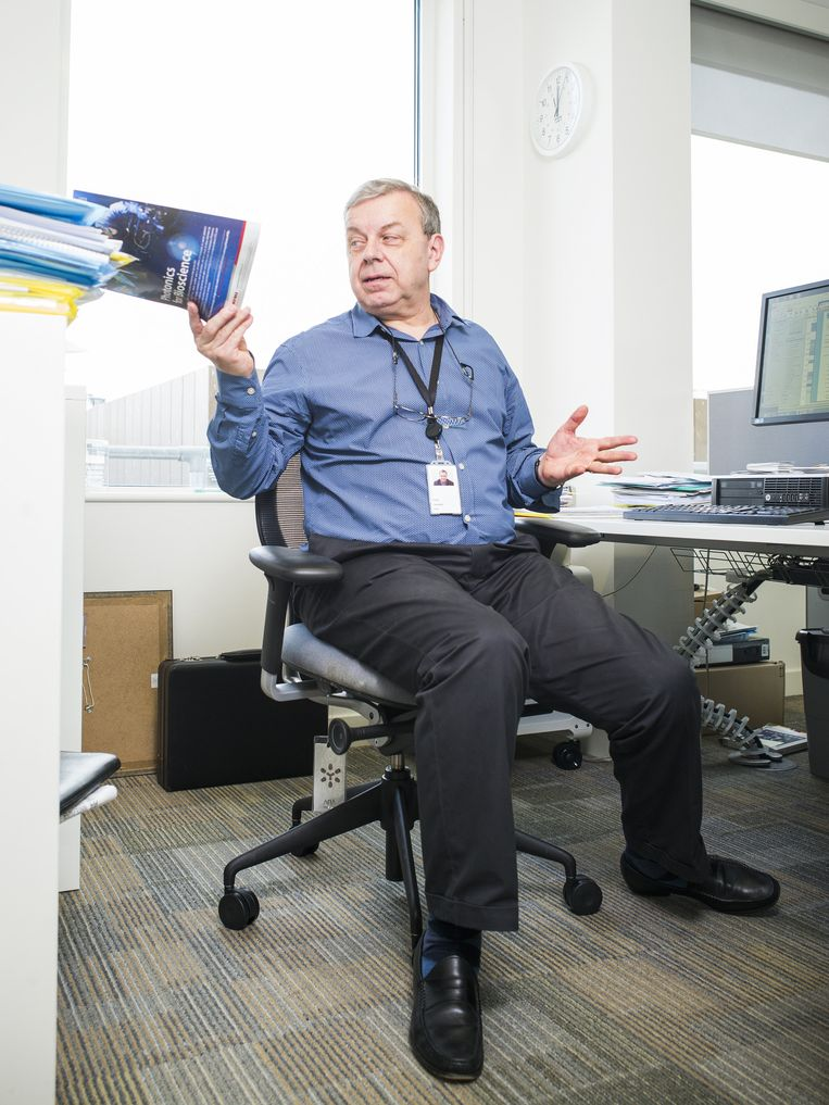Philip Campbell, hoofdredacteur Nature. Beeld Jiri Buller