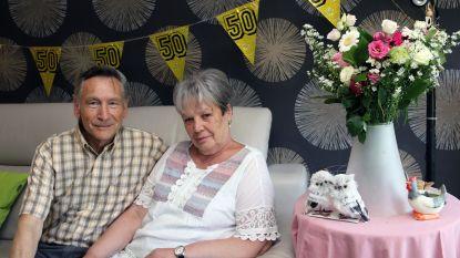 Marcel en Godelieve vieren 50ste huwelijksverjaardag