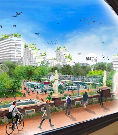 Ontwerpstudies Fellenoord Eindhoven: groen plein op Neckerspoel