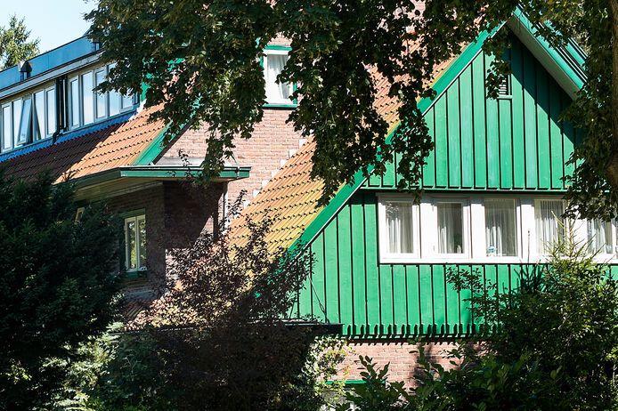De 'Oostenrijkse' huizen van de Woningbouwvereniging voor Ambtenaren te Arnhem. Foto ter illustratie.