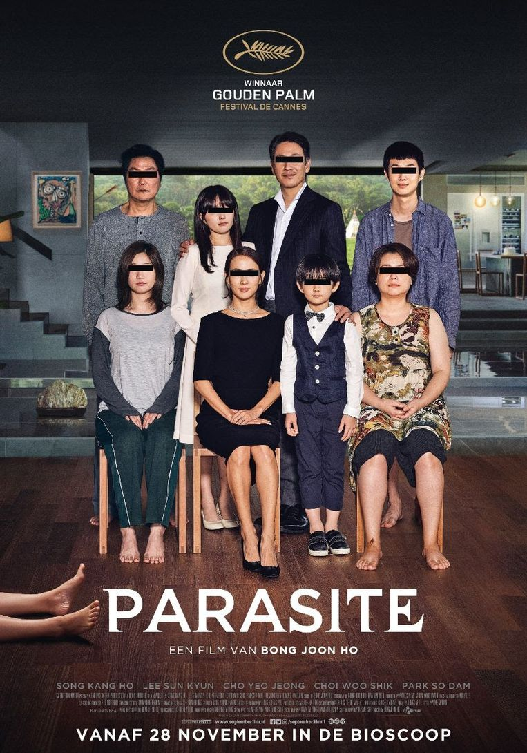 Parasite wint Publieksprijs tijdens Parool Film Fest