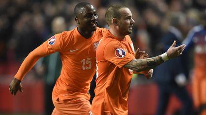 Sneijder redt vel van Hiddink met gelijkmaker in extra tijd