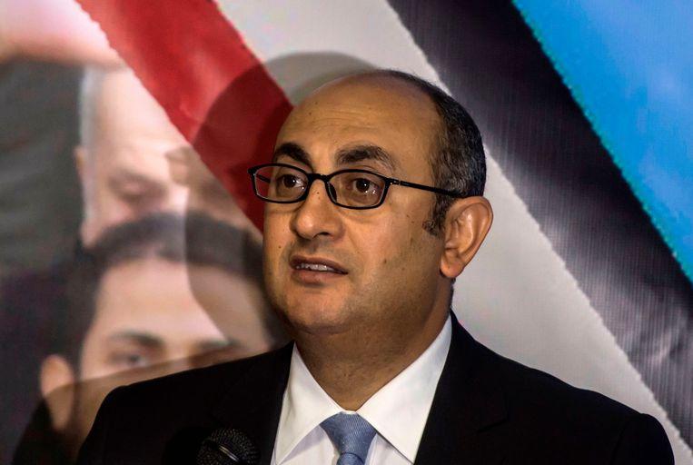 De enige tegenkandidaat van al-Sisi: Khaled Ali.