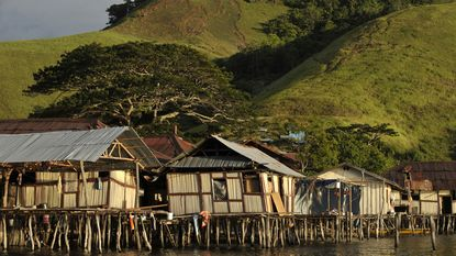 Aardbeving voor de kust van Papoea-Nieuw-Guinea