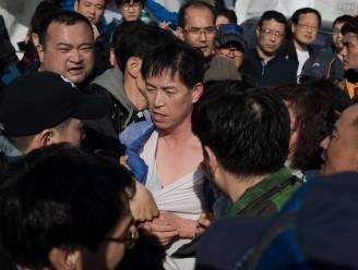 Nabestaanden ferryramp 'gijzelen' Koreaanse minister