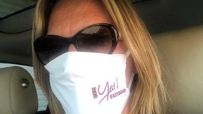 Yes Vastgoed laat 500 eigen mondmaskers maken en schenkt deel aan rusthuis Sint-Vincentius