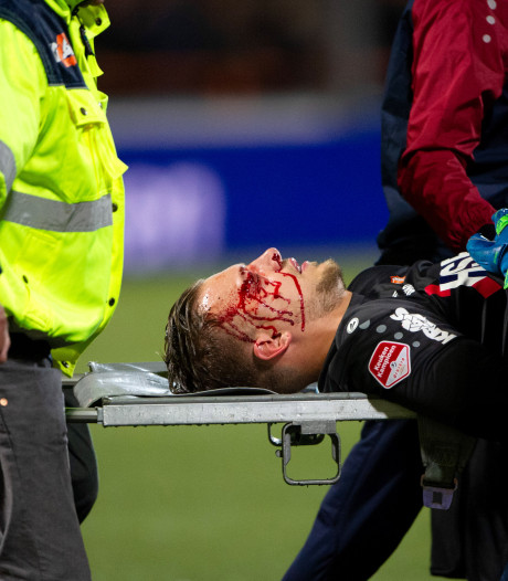 Vriendenkring FC Twente steekt ongelukkige Volendam-doelman hart onder de riem