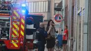 Brandje in studio nadat kaars omver valt