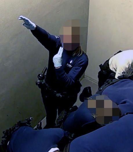 La policière qui a effectué un salut nazi reste suspendue