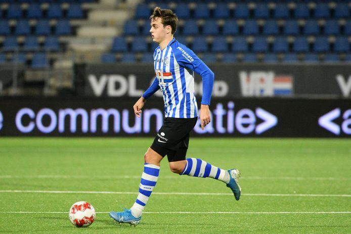 Kaj de Rooij staat nog één jaar onder contract bij FC Eindhoven.