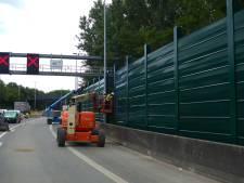 Nog even doorbijten: plaatsing geluidsschermen langs E313 in Borgerhout zondag klaar