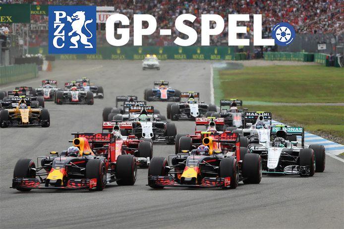 Het GP-spel van de PZC.