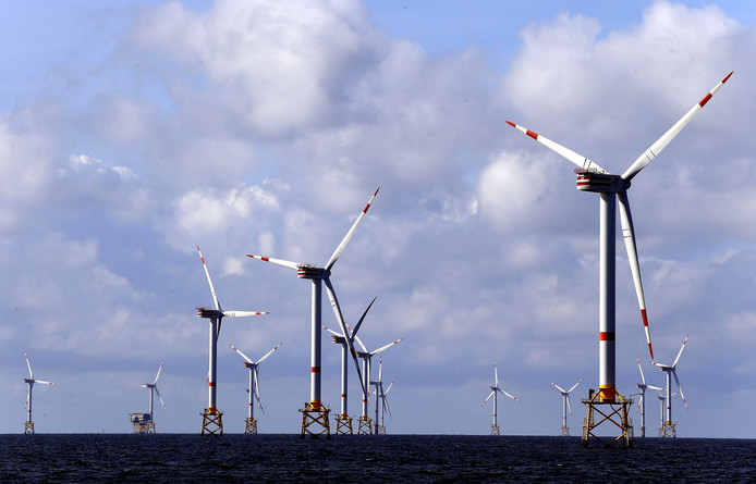 De aangeboden elektriciteit is grotendeels afkomstig van wind-, zon- en biomassa.