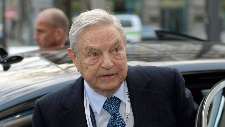 George Soros. Beeld anp