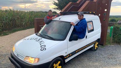 Team Klus en Klos neemt deel aan Rammelbakken Reis