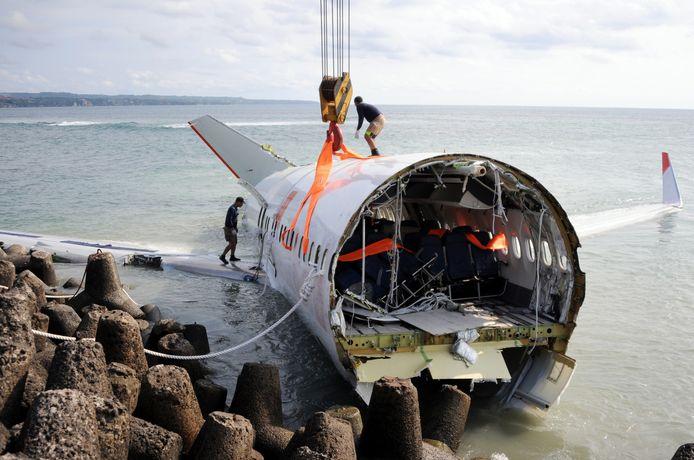Het toestel van Lion Air stortte neer in de Javazee. Alle 189 inzittenden lieten daarbij het leven.