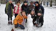Leerlingen Heilig Hart&College ruilen rekenles voor sneeuwpret in stadspark
