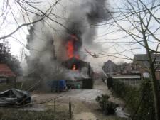 Asbest vrijgekomen bij uitslaande woningbrand in Groesbeek