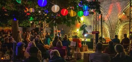 Blij en coronaproof cultuur snuiven onder reuzenkastanje bij Zwolle Nu-Limited