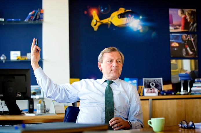 Frits van Bruggen, hoofddirecteur van de ANWB: ,,Als dit zo doorgaat, draaien we de komende jaren compleet vast.